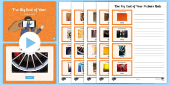 The Big End of Year Picture Quiz Pack - final week, leavers, fun, activities, photo, mystery
