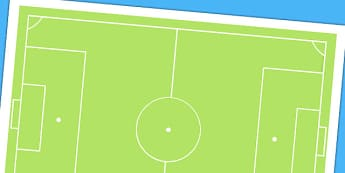 Football Pitch Cut Out - world cup, sports, cutouts, display