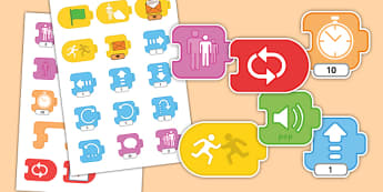 Scratch Junior Blocks - scratch, junior, blocks, computing, programming