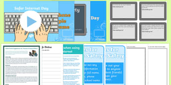 Top 10 Safer Internet Day Resource Pack - top ten, safer internet day, safe, internet, resource pack