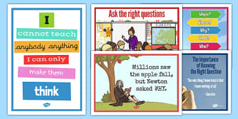 Socratic Questioning Display Posters - socratic questioning, questioning, discussion, philosophy