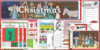Christmas Resource Activity Pack for Childminders - christmas, resource, activity pack, childminders