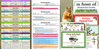 EYFS Bumper Planning and Resource Pack to Support Teaching on Stick Man - stick man, bumper, planning