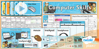 PlanIt - Computing Year 1 - Computer Skills Unit Pack - planit