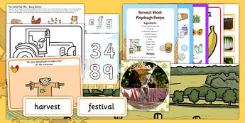 Childminder Harvest Pack - pack, harvest, childminder, activity