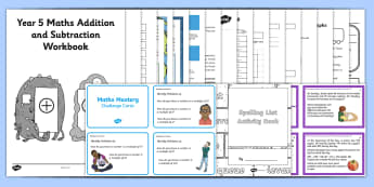 Summer Holiday Transition Year 4 Moving Into Year 5 Activity Pack - holiday, homework, revision, year 5, catch-up