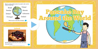 Pancake Day Around the World PowerPoint - powerpoint, power point, interactive, around the world, pancake day, pancake day powerpoint, pancake day around the world presentation, powerpoint presentation, presentation, slide show, slides, discussion ai