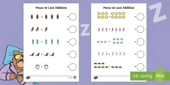 Peace at Last Addition Sheet - peace at last, addition, sheet, addition sheet, addition worksheet, numeracy, maths, sheet for addition, peace at last sheet