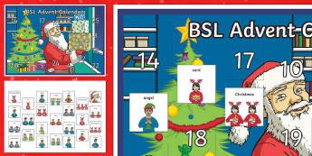 BSL Advent Calendar
