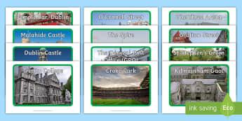 ROI   Dublin, Ireland Photo Pack - ROI - The World Around UsWAU, irish towns, irish cities, Irish