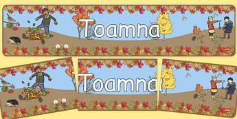 Toamna - Banner