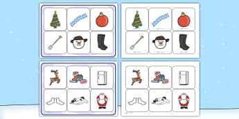 Matching Cards and Board to Support Teaching on The Snowman - the snowman, the snowman matching game, the snowman picture matching activity, the snow man sen picture game, sen