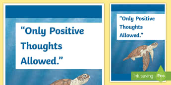 Positive Inspirational Classroom Quote Display Poster - No Negativity Inspirational Classroom Quote Display Poster - inspirational quote, display, motivatio