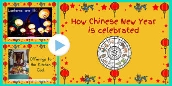 How Chinese New Year Is Celebrated Photo PowerPoint - australia