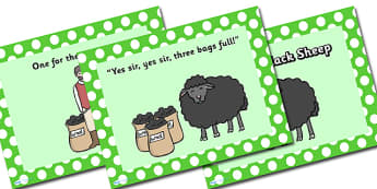 Baa Baa Black Sheep PowerPoint - baa baa black sheep, nursery rhymes, nursery rhyme powerpoint, baa baa black sheep nursery rhyme powerpoint, rhyme, song