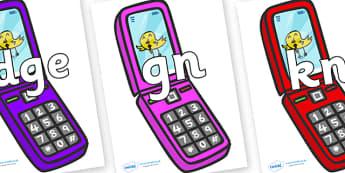 Silent Letters on Mobiles - Silent Letters, silent letter, letter blend, consonant, consonants, digraph, trigraph, A-Z letters, literacy, alphabet, letters, alternative sounds