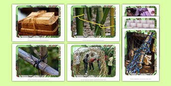 Joining Natural Materials Display Photos - display photos, natural material, joining materials, outdoor learning