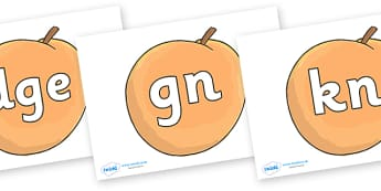 Silent Letters on Giant Peach to Support Teaching on James and the Giant Peach - Silent Letters, silent letter, letter blend, consonant, consonants, digraph, trigraph, A-Z letters, literacy, alphabet, letters, alternative sounds
