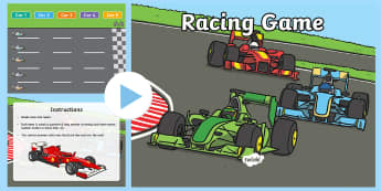 Car Race Plenary PowerPoint - car race, plenary, plenary powerpoint, car race powerpoint, powerpoint, class management, classroom powerpoint, quizzes