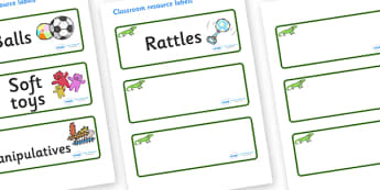 Iguana Themed Editable Additional Resource Labels - Themed Label template, Resource Label, Name Labels, Editable Labels, Drawer Labels, KS1 Labels, Foundation Labels, Foundation Stage Labels, Teaching Labels, Resource Labels, Tray Labels, Printable l