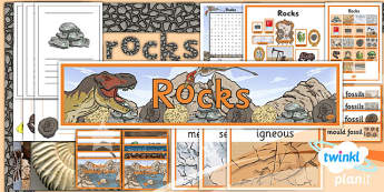 PlanIt - Science Year 3 - Rocks Unit Additional Resources - planit, unit, science