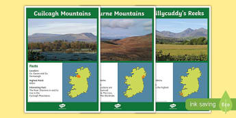 Mountains of Ireland Display Posters