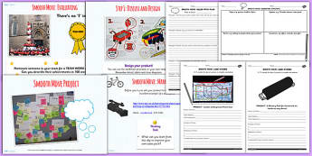 6 Transition Smooth Move Product Design Project Activity Pack
