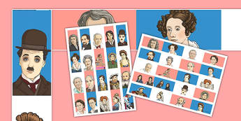 Famous Britons Display Borders - famous britons, display borders, display, borders, famous, britons, brits