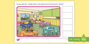 Phase 5 i-e Find the Words Scene Activity - phonics, letters and sounds, phase 5, i-e sound, magnifier, magnifying glass, find, activity, group,