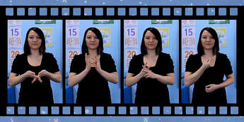 10 Nativity Signs in British Sign Language Video Clip - nativity, food signs, british, british sign language, bsl, video clip