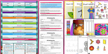 EYFS Diwali Lesson Plan Enhancement Ideas and Resources Pack - eyfs, diwali, lesson plan, enhancement, pack