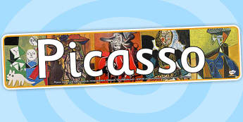 Picasso Photo Display Banner - picasso, photo, display banner