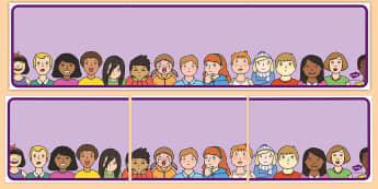 Editable Banner Emotions - editable, editable banner, emotions, display, banner, display banner, display header, themed banner, editable header, header