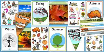 Four Seasons Display Pack - four seasons, display pack, display, pack