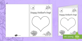 Mother's Day Cards - NI Mother's Day card, greeting cards, mother's day, mothering sunday, finger paint, finger paintin