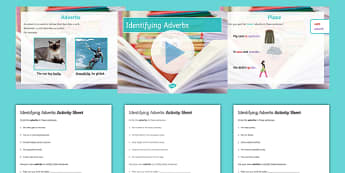 Identifying Adverbs Resource Pack