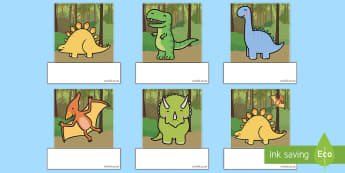 Los dinosaurios Auto registro editable - Los dinosaurios, proyecto, transcurricular, seres vivos, estegosaurio, pterodáctilo, braquiosauro,