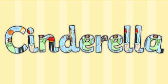 Cinderella Display Lettering - cinderella, display, lettering