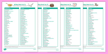 KS2 Book List Pack