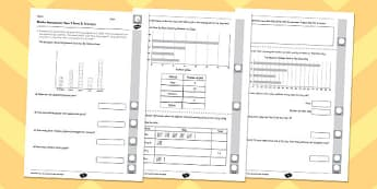Year 3 Maths Assessment: Statistics Term 2 - year 3, maths, assessment, statistics
