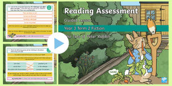 Year 3 Reading Assessment Fiction Term 2 Guided Lesson PowerPoint - Year 3, term 2, Reading Assessment Guided Lesson PowerPoints, KS2, reading, read, assessment, guided