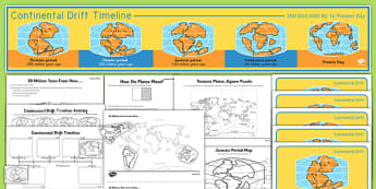 Tectonic Plates Teaching Pack - tectonic plates, teaching pack, teaching, pack