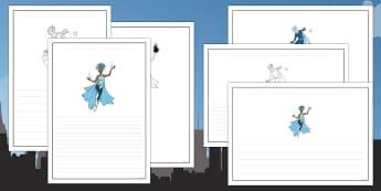 Anti Bullying Week Superhero Writing Frames