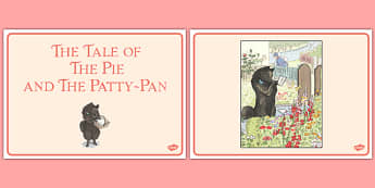 Beatrix Potter - The Tale of the Pie and the Patty Pan Story Sequencing - beatrix potter, pie, patty pan, story sequencing, story, sequencing