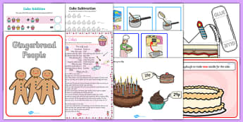 Cake Activity Resource Pack-Australia