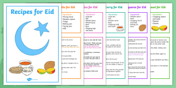Eid Recipe Book - eid, recipe, book, recipe book, cooking, cook