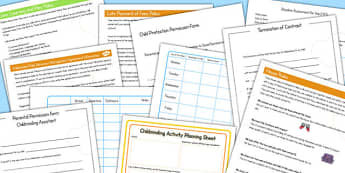 Childminder Taster Policy Pack - Childminder, Taster, Policy