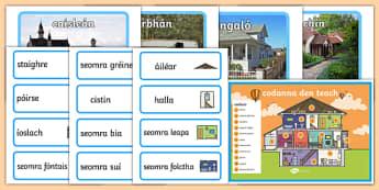 Homes Display Pack Gaeilge
