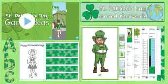 St Patrick's Day Resource Pack - KS1& 2 St Patrick's Day UK March 17th 2017, st patrick's day resources, st patricks day,