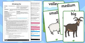 Billy Goats Gruff Movement Activity EYFS Adult Input Plan and Resource Pack